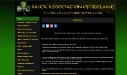 CMS Website for the Akita Association of Ireland