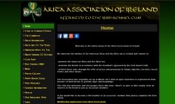 CMS Website for the Akita Association of Ireland