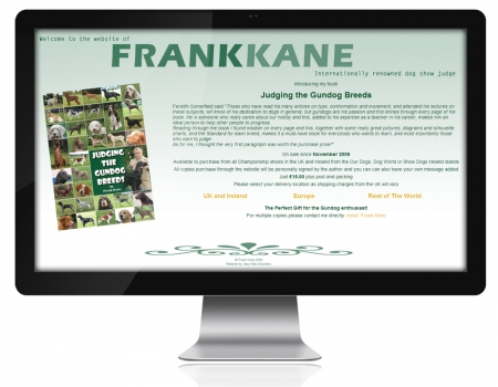 pre 2015 Website of Frank Kane.