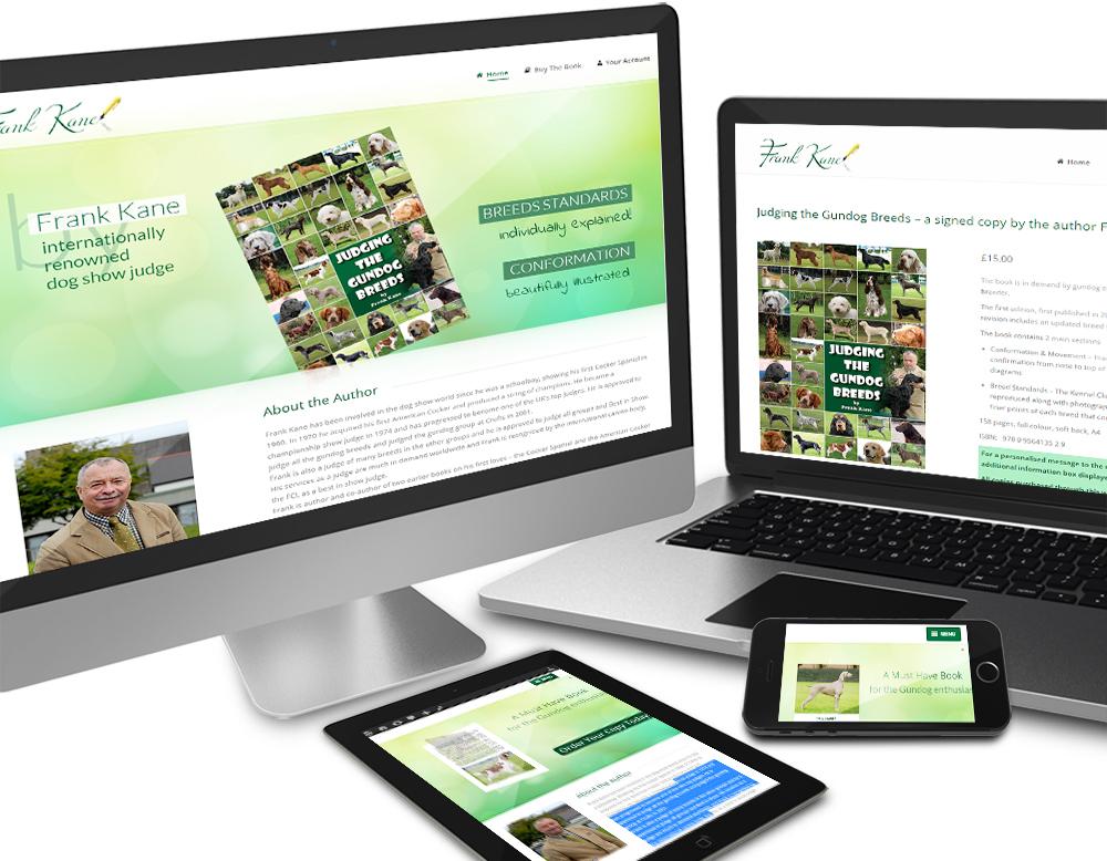 eCommerce site for Frank Kane