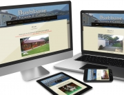CMS responsive website of Bushbane Kennels